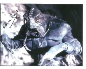 Laurie Goode - Doctor Who, 10x8 genuine signed autograph 10226